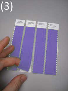 geschnitten in Streifen / 4Stk. loses, doppellagiges Gewebe (2,5 x 11 cm pro Streifen) 12,50 €(Netto), 14,88 €(Brutto)